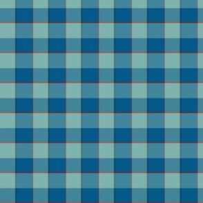 plaid-blue mint