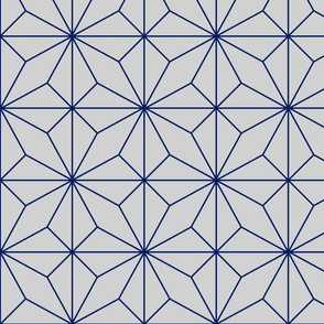 Tiled Four Pointed Star