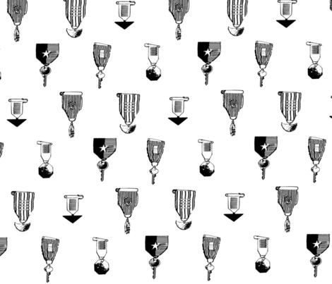 tiny badges fabric by artistmn on Spoonflower - custom fabric