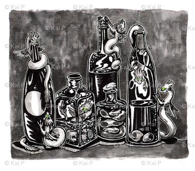 Bottle Dragons