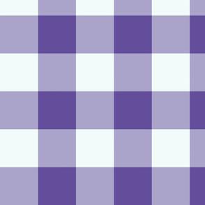 plaid-violet purple mint