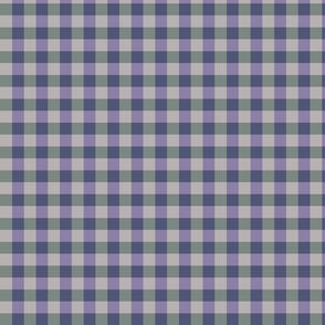 plaid-teal violet dusk