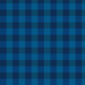 plaid- night watch blue