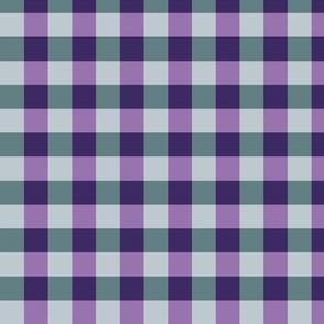 plaid-violet sky teal