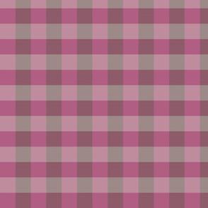 plaid raspberry plum rows