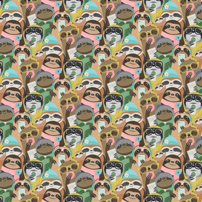 sloth repeat small