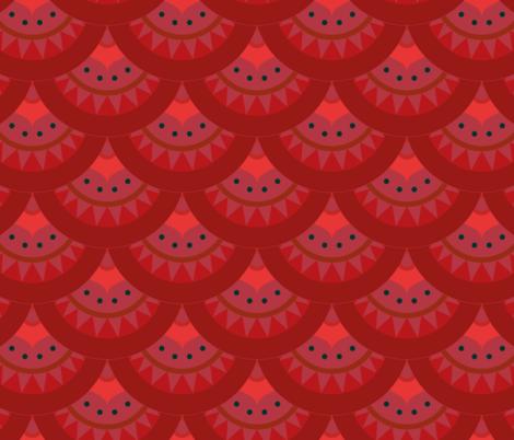 holiday rug fabric by heyfabric_designs on Spoonflower - custom fabric