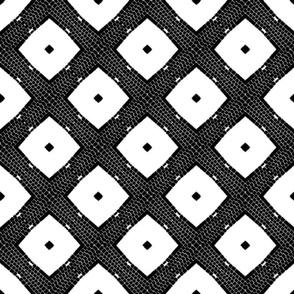 Rhomboids in black & white