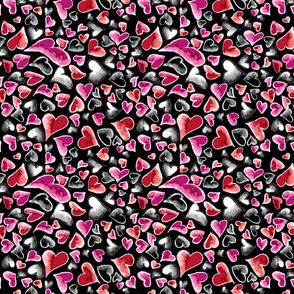 Ditzy Hearts Multicolor
