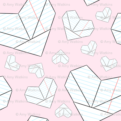 Folded Love Notes