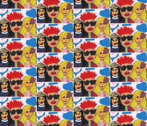 I'm the Dude! fabric by valerie_dortona on Spoonflower - custom fabric