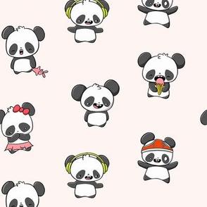 Kawaii Pandas
