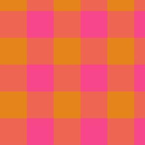 plaid-coral-orange-pink