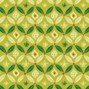 Palm Leaf Ring - Lime