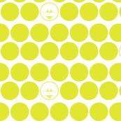 yellow - polka dot bikini
