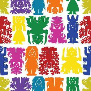 mexican folk art colors