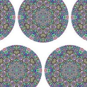 Mandala-Blue