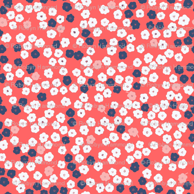 Living coral floral