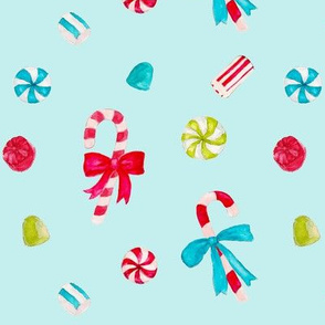 Vintage Christmas Candy_mint