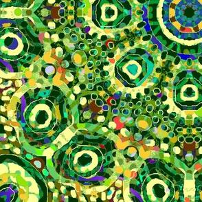 Emerald Isle: Festivity with Dots