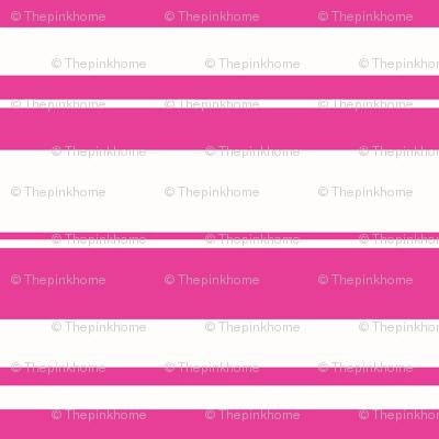 Horizontal Flamingo Stripes