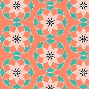 Geometric Floral 1