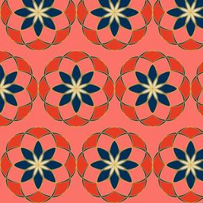 Geometric Floral 3