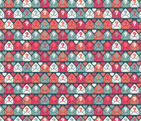 Mystery Admirer fabric by seesawboomerang on Spoonflower - custom fabric