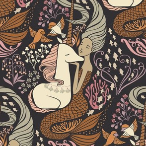 The Mermaid and the Unicorn {Sargasso}
