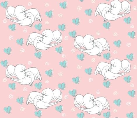 Love you Unconditionally fabric by salzanos on Spoonflower - custom fabric