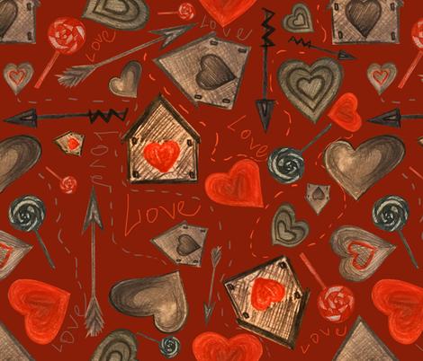 love3 fabric by avot_art on Spoonflower - custom fabric