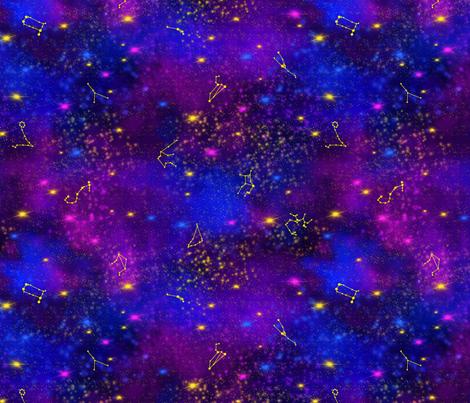 Seeing stars fabric by everhigh on Spoonflower - custom fabric