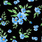Blue Poppies (310)