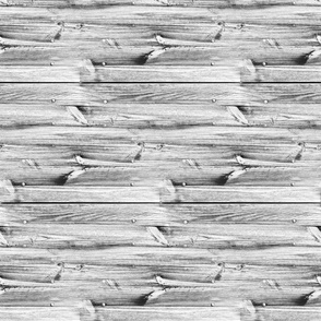 Planches de bois gris - Wood boards grey (horizontal)