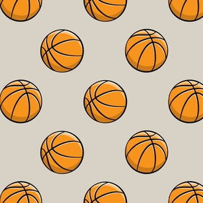 Basketballs - Beige - Sports