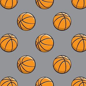 Basketballs - Grey - Sports