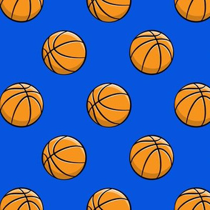 Basketball - Blue -  Sports