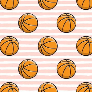 Basketball - Pink Stripes -  Sports