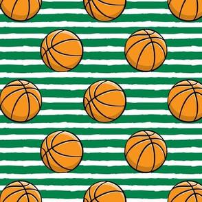 Basketball - Green Stripes -  Sports