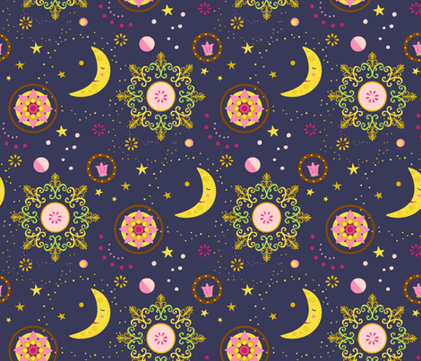Heavens Above fabric by rachelmacdonald on Spoonflower - custom fabric