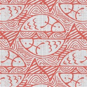 pisces (coral outline)