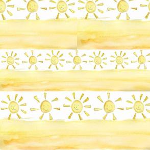 happy sunshine stripes