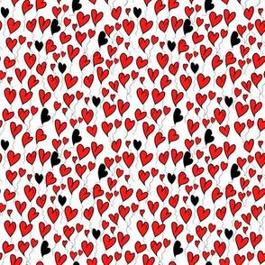 Be my valentine on white background