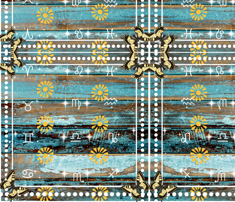 Astrology fabric by spicerroots on Spoonflower - custom fabric