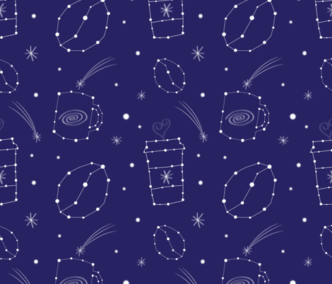 Capriccino fabric by shinebrightoday on Spoonflower - custom fabric