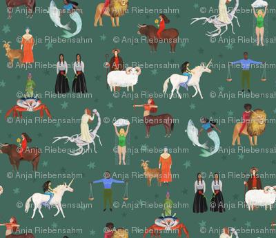 Warrior Women of the Zodiac