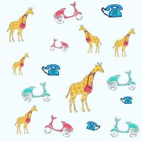 Giraffe Holla Back