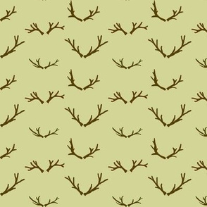 Branching Antlers | Retro Festive