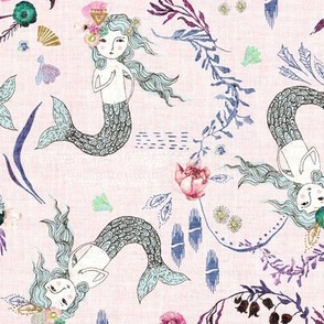 Atlantis Mermaids (lavender)