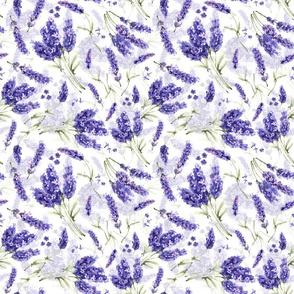 """10"""" Lavender Lavender - little bouquets double layer"""